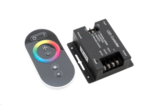 RGB-Контроллер Led controller touch DELUCE 24А 12/24V